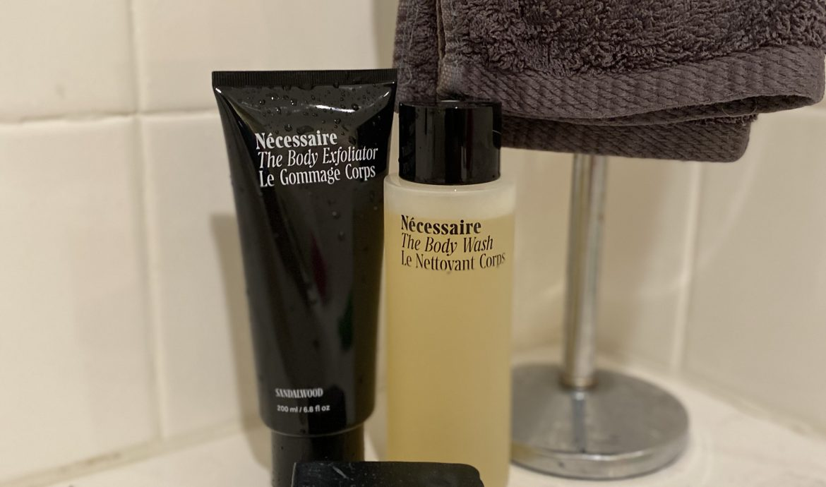 Discover the Body Duo that will Have your skin glowing | Necessaire Body Duo Product Review